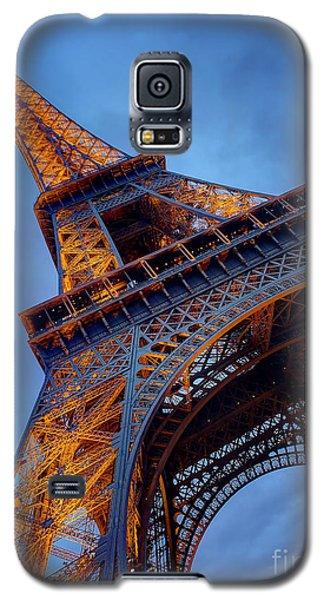 Eiffel Dressed In Gold Galaxy S5 Case