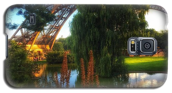 Eiffel Galaxy S5 Case by Marty Cobcroft