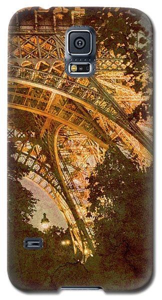 Paris, France - Eiffel Oldplate II Galaxy S5 Case