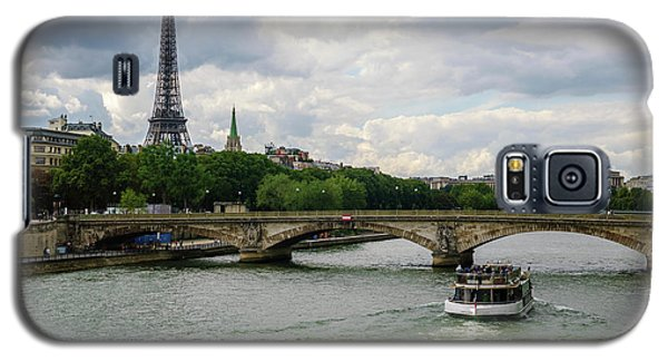 Eiffel Tower And The River Seine Galaxy S5 Case