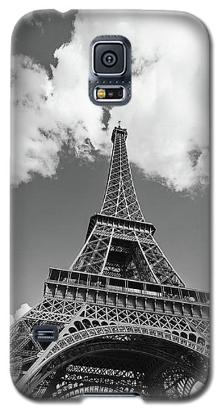 Eiffel Tower - Black And White Galaxy S5 Case