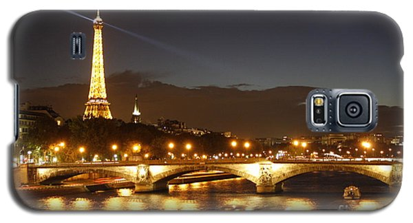 Eiffel Tower By Night Galaxy S5 Case
