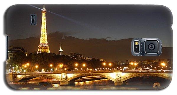 Eiffel Tower By Night Galaxy S5 Case