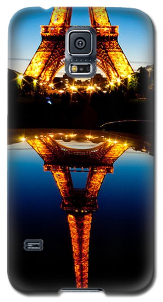 Eiffel Tower Reflection Galaxy S5 Case