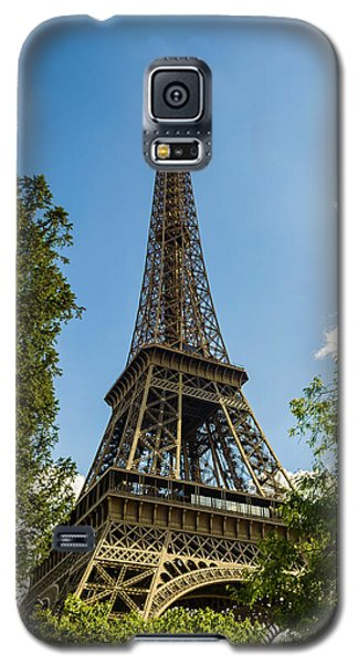 Eiffel Tower Through Trees Galaxy S5 Case