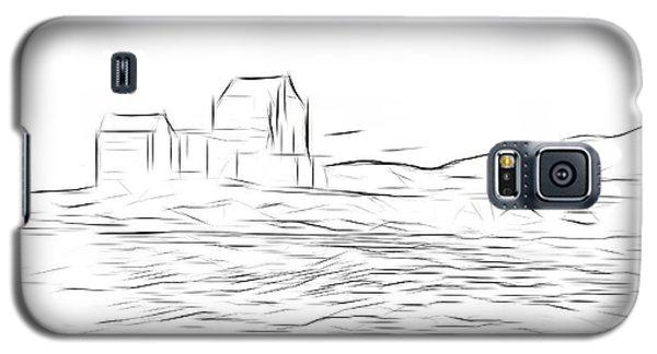 Castle Galaxy S5 Case - Eilean Donan Castle Digital Art by Smart Aviation