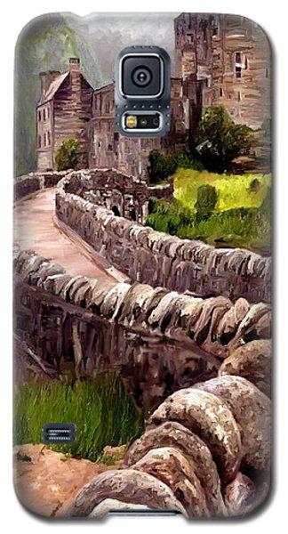 Eilean Donan Castle Galaxy S5 Case by James Shepherd