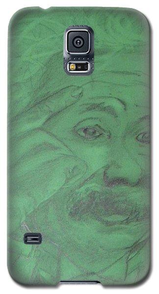 Einstein Galaxy S5 Case by Manuela Constantin