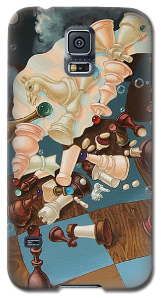 Einstein, Who Did Not Know How To Play Chess. Galaxy S5 Case