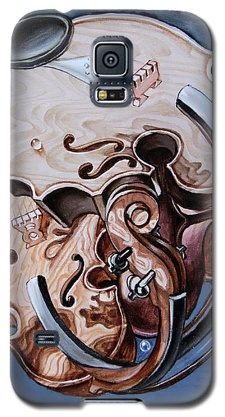 Einstein's Violin. Op.2763 Galaxy S5 Case