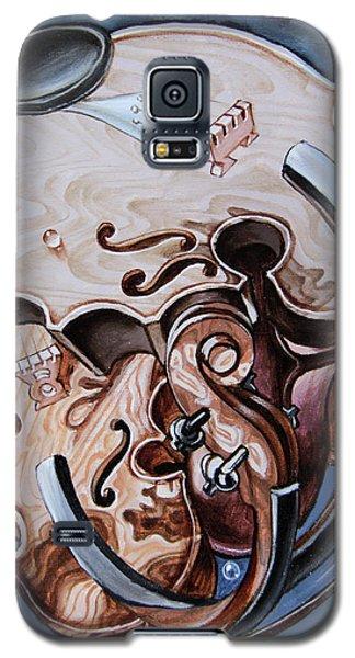 Einstein's Violin. Op.2763 Galaxy S5 Case