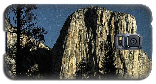 El Capitan By Starlight, Yosemite Valley, Yosemite Np, Ca Galaxy S5 Case
