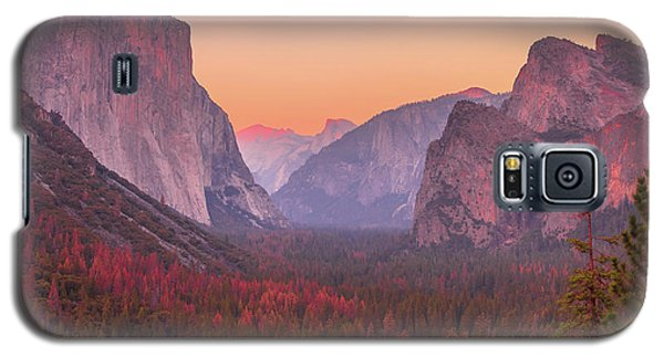 El Capitan Golden Hour Galaxy S5 Case