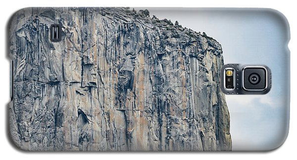 El Capitan Up Close And Personal From Tunnel View Yosemite Np Galaxy S5 Case