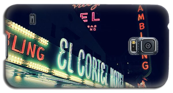 El Cortez Hotel At Night Galaxy S5 Case