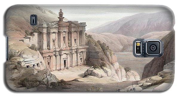 El Deir Petra 1839 Galaxy S5 Case