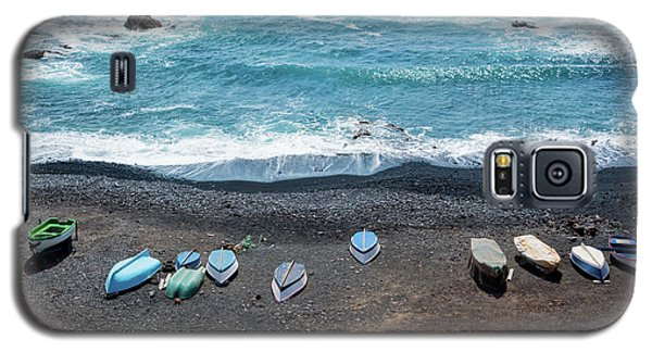 Galaxy S5 Case featuring the photograph El Golfo by Delphimages Photo Creations
