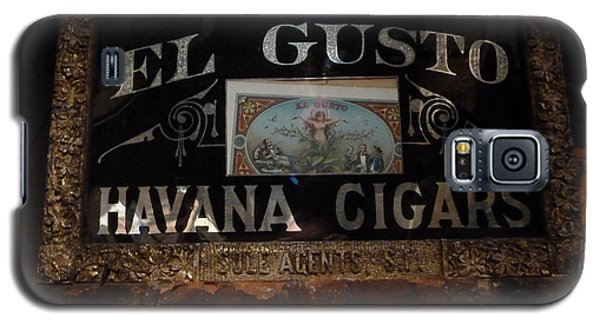 Galaxy S5 Case featuring the photograph El Gusto by Newel Hunter