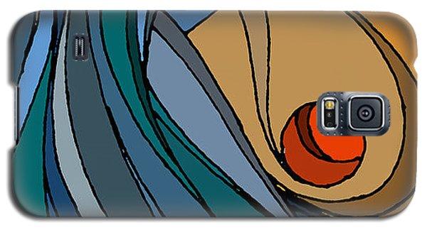el MariAbelon blue Galaxy S5 Case