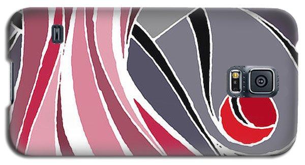 el MariAbelon red Galaxy S5 Case