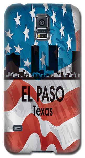 El Paso Tx American Flag Vertical Galaxy S5 Case