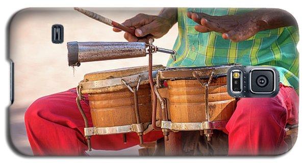 Drum Galaxy S5 Case - El Son De Cuba by Delphimages Photo Creations