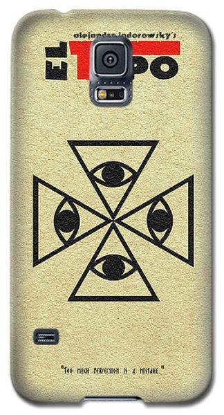 Galaxy S5 Case featuring the digital art El Topo by Ayse Deniz