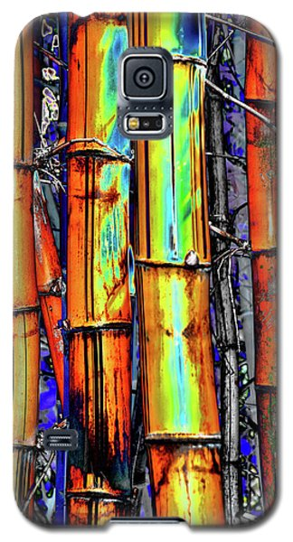 Electric Bamboo 3 Galaxy S5 Case