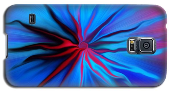 Electric Blue 2 Galaxy S5 Case by Trena Mara
