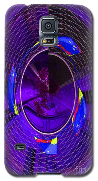 Electric Blue Galaxy S5 Case by Nareeta Martin
