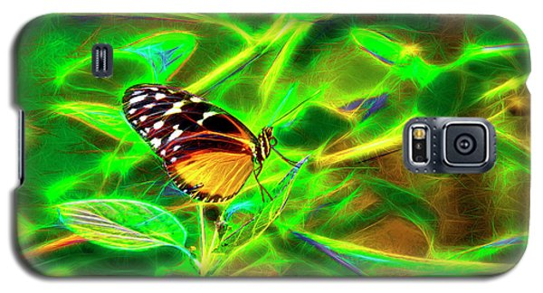 Electric Butterfly Galaxy S5 Case by James Steele