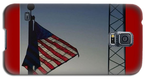 Electric Flag Galaxy S5 Case