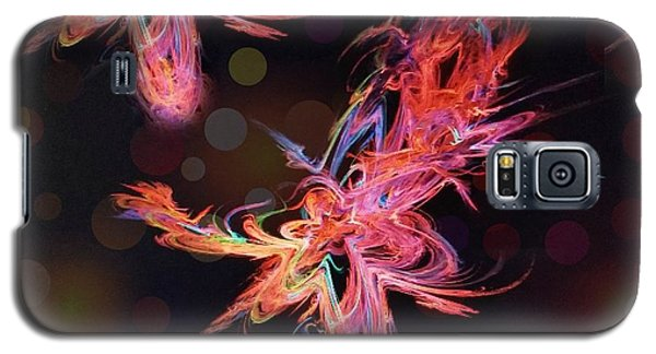 Electric Flowers Galaxy S5 Case
