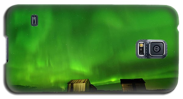 Electric Green Skies Galaxy S5 Case
