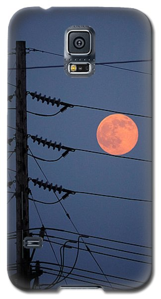 Electric Moon Galaxy S5 Case by Richard Reeve