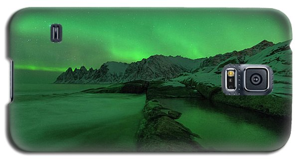 Galaxy S5 Case featuring the photograph Electric Night by Alex Lapidus