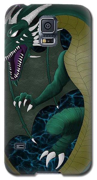 Electric Portal Dragon Galaxy S5 Case