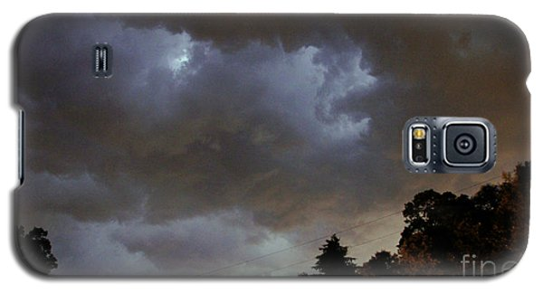 Electric Sky Of Faces Galaxy S5 Case