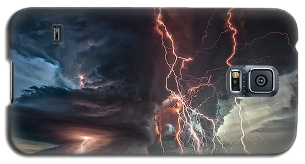 Galaxy S5 Case featuring the photograph Electrical Storm by James Menzies