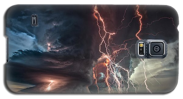 Electrical Storm Galaxy S5 Case by James Menzies
