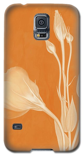 Elegance In Apricot Galaxy S5 Case