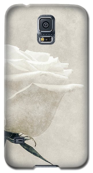 Elegance In White Galaxy S5 Case