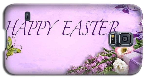 Elegant Easter Card Galaxy S5 Case by Debra     Vatalaro