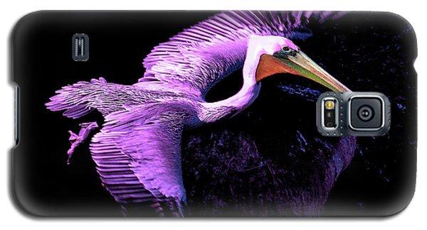 Elegant Flight In Violet Galaxy S5 Case