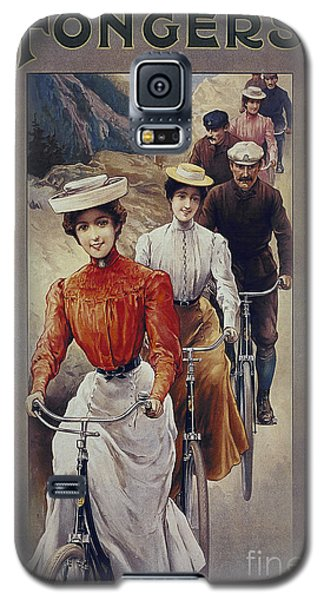 Elegant Fongers Vintage Stylish Cycle Poster Galaxy S5 Case