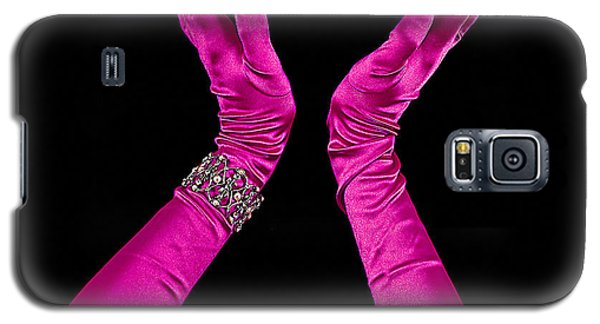 Elegant Fuchsia Arms/hands Clapping Galaxy S5 Case