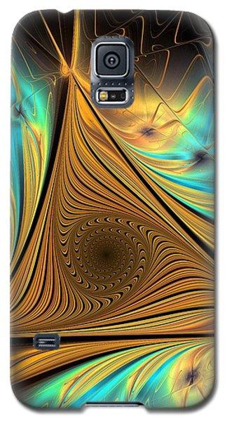 Galaxy S5 Case featuring the digital art Element by Anastasiya Malakhova