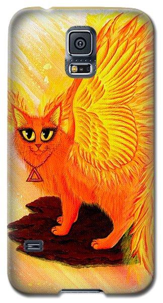 Elemental Fire Fairy Cat Galaxy S5 Case
