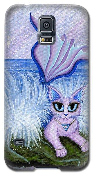 Elemental Water Mermaid Cat Galaxy S5 Case