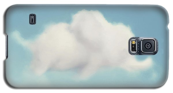 Galaxy S5 Case featuring the photograph Elephant In The Sky - Square Format by Amy Tyler